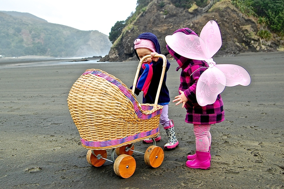 Run Wild Beautiful Child Piha Auckland