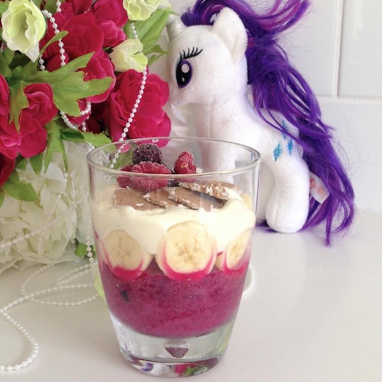 Run Wild Beautiful Child Berry Beetroot Chia Seed Pudding